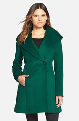 Women's Trina Turk 'Bonnie' Shawl Collar Skirted Coat
