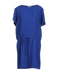 Dice Kayek 3 4 Length Dresses Blue