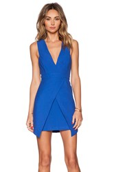 Finders Keepers Basic Instinct Dress Blue