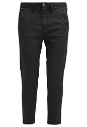 G Star Gstar Bronson Low Boyfriend Chino Chinos Rinsed Black
