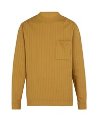 Saturdays Surf Nyc Elijah Cotton Jersey Sweatshirt Brown