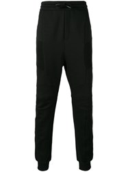 Balmain Pierre Biker Sweatpants Black