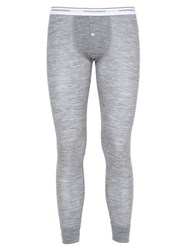 Dsquared Stretch Wool Jersey Long John Pants
