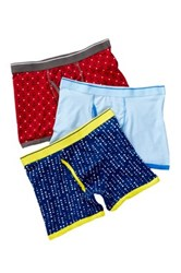 Bottoms Out Boxer Brief 3 Pack Multi