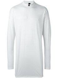 Odeur 'Graphic' Long Sleeve T Shirt White