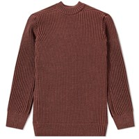 S.N.S. Herning Fang Rib Crew Knit Pink