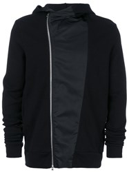 Lost And Found Rooms Dislocated Fastening Hoodie Black