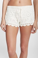 Surf Gypsy Women's Crochet Cover Up Shorts