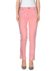 Basicon Denim Denim Trousers Women Pink