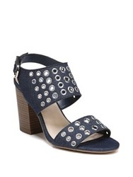 Fergalicious Jolene Denim Ankle Strap Sandals