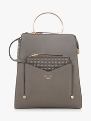 Dune Dacia Removable Front Pouch Backpack Grey