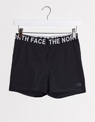 The North Face Essential Shorty Shorts In Black