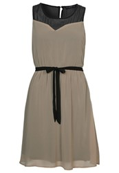 Evenandodd Cocktail Dress Party Dress Light Brown