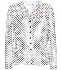 Oscar De La Renta Cotton Jacket White