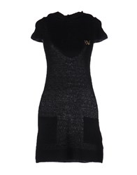 Fixdesign Atelier Short Dresses Dark Blue