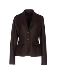 Henry Cotton's Suits And Jackets Blazers Women Dark Brown