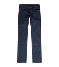 Paul And Shark Red Rivet Jeans Male Midnight