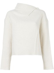 Isabel Marant Split Roll Neck Jumper Nude And Neutrals