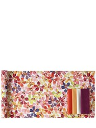 Missoni By Richard Ginori 1735 Flowers Collection Cotton Table Runner