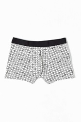 Urban Outfitters Smiley Faces Trunk White