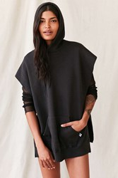 Urban Renewal Remade Side Slit Sweatshirt Black
