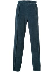 Off White Side Panelled Track Pants Blue