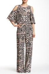 Romeo And Juliet Couture Printed Palazzo Pant Pink