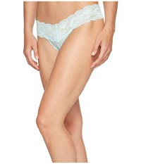 Cosabella Never Say Never Cutie Lowrider Thong Tropical Water Women's Underwear Green