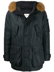 Peuterey Fur Hood Trim Padded Coat 60