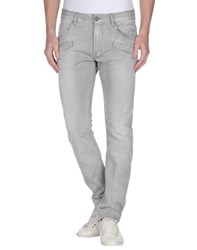 Pierre Balmain Denim Denim Trousers Men Grey