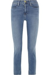 Frame Le High Slim Leg Jeans Light Denim
