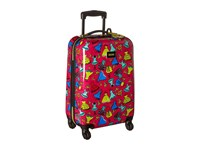 Betsey Johnson Small Carry On Luggage Belle Of The Ball Fuschia Carry On Luggage Pink