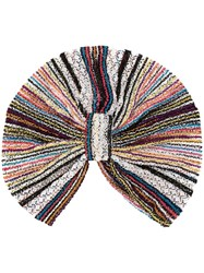 Missoni Mare Knitted Turban Blue