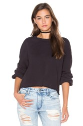 Lacausa Cropped Pullover Black