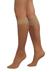 Spanx Hi Knee Knee Highs Beige