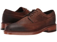 Trask Maddox Snuff Oiled Suede Men's Flat Shoes Bronze