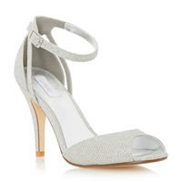 Untold Merelda Two Part Sandal Metallic