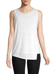 Marc New York Front Overlay Top White