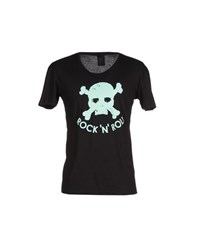 Rock 'N' Roll Topwear T Shirts Men Black