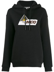 Mcq By Alexander Mcqueen Oversized Logo Print Hoodie Black