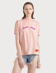 Heron Preston Concrete Jungle T Shirt Pink