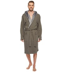 Ugg Brunswick Robe Rock Ridge Heather Gray