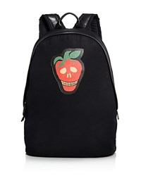 Paul Smith Strawberry Skull Backpack Black