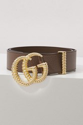 Gucci Gg Marmont Belt Brown