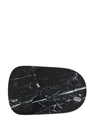 Normann Copenhagen Large Pebble Marble Serving Board Black