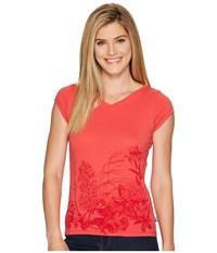 Fjall Raven Meadow Tee Coral Women's T Shirt