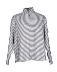 Aganovich Shirts Grey