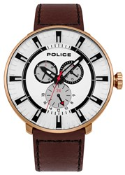 Police League Watch Brown