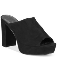 Charles By Charles David Miley Platform Mules Women's Shoes Black