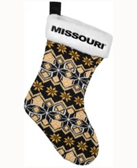 Forever Collectibles Missouri Tigers Ugly Sweater Knit Team Stocking Black